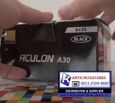 Jual Teropong Ori ACULON A30 8X25 BLACK di Malang