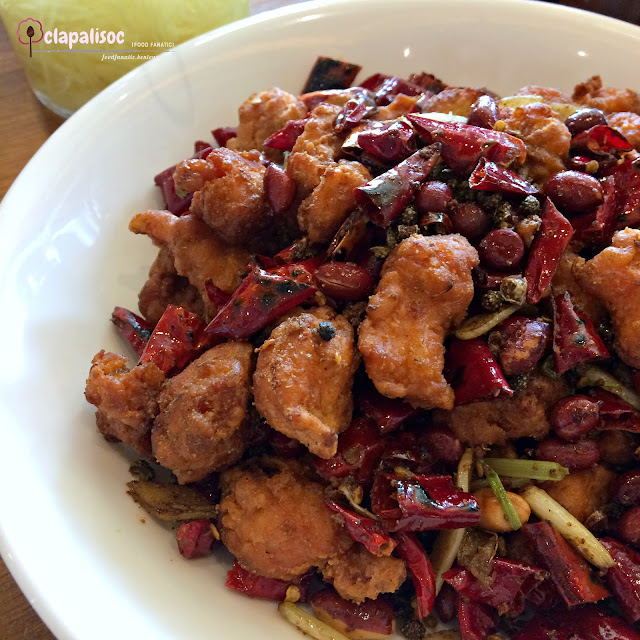 Spicy Szechuan Crispy Chicken from Paradise Dynasty PH