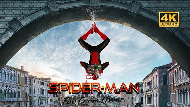 Spider-Man: Lejos de Casa (2019) Web-DL 4K UHD 2160p Latino-Ingles