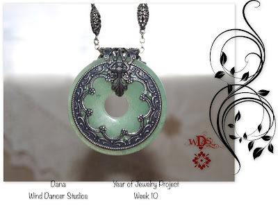 Wind Dancer Studios: Year of Jewelry Week 10 Aventurine and Silver