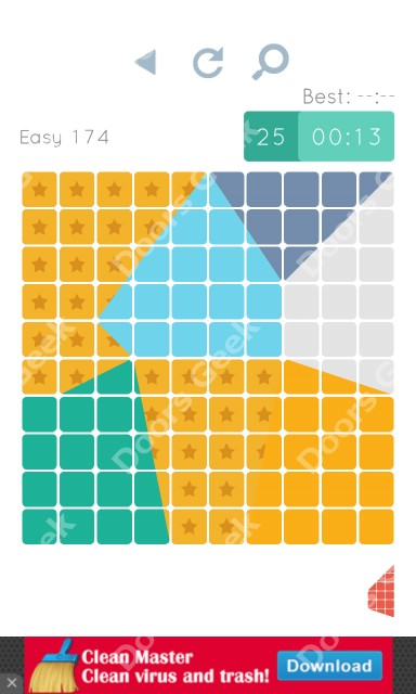 Cheats, Walkthrough for Blocks and Shapes Level 174