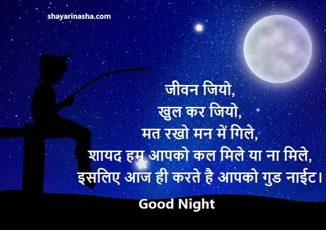Best Good Night Quotes in Hindi