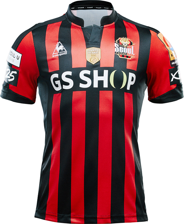 Le Coq divulga as novas camisas do FC Seoul - Show de Camisas f2b94bba6b409
