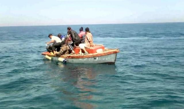 المهدية : إحباط عملية هجرة غير شرعية لـ 8 حراقة