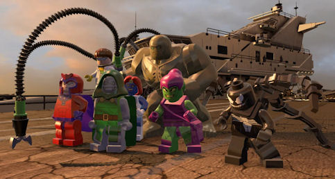 Lego Marvel Super Heroes sur Switch