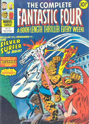 Fantastic Four #22, the Silver Surfer
