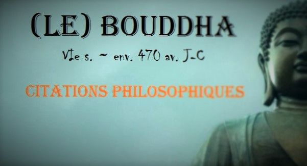 Bouddha Citations