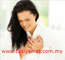 Simptom serangan jantung