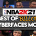 "NBA 2K21 BEST OF ""BILLOWS' CYBERFACES MODS"