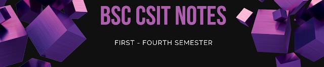 CSIT NOTES