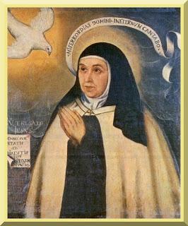 """Saint Teresa of Avila"" by Father Juan de la Miseria - PD-1923"