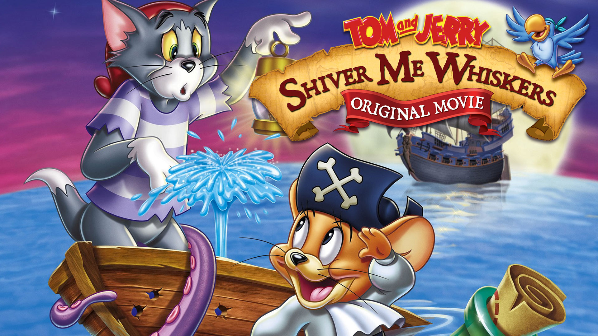 Tom and Jerry Shiver Me Whiskers Movie Hindi Download