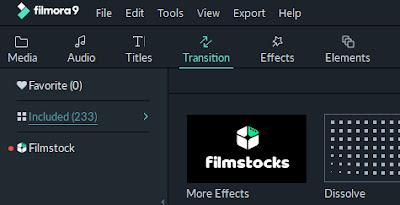 Filmora Transitions
