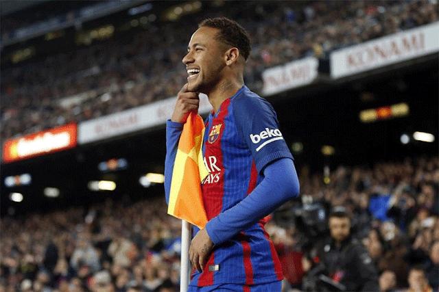 نيمار يرفض الكلام عن برشلونة