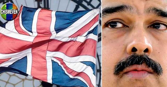 Reino Unido impone nuevas sanciones contra funcionarios del Régimen de Maduro