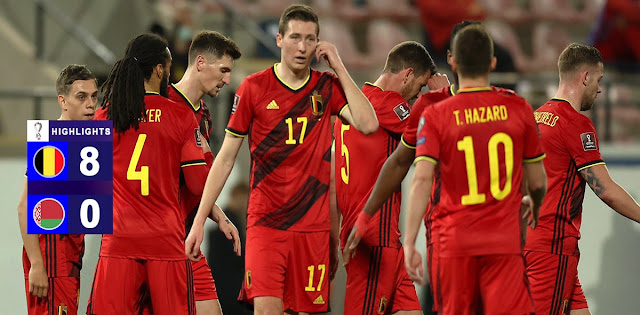 Belgium vs Belarus – Highlights
