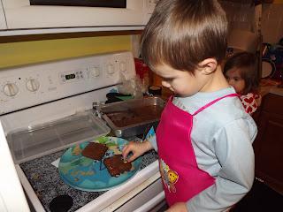 make the brownies