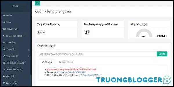 Cách Get link Fshare tốc độ cao miễn phí không giới hạn