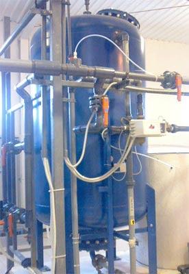 محطة ازالة قساوة الماء