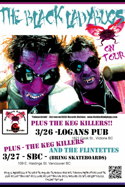 CONFIRMED LADYBUG GIGS IN MARCH!!!