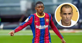 Rivaldo goes back on Dembele criticism after recent performance