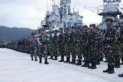 Pangkogabwilhan I Pimpin Apel Gelar Pasukan Pengamanan Laut Natuna