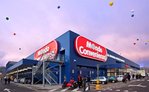 Mondo Convenianza in Milan for furnishing your home