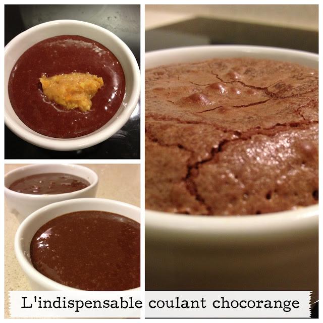 sweet kwisine, chocolat, coulant, gâteau, Cyril Lignac, oranges
