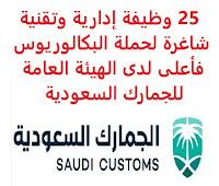 25 وظيفة إدارية وتقنية شاغرة لحملة البكالوريوس فأعلى لدى الهيئة العامة للجمارك السعودية تعلن الهيئة العامة للجمارك السعودية, عن توفر 25 وظيفة إدارية وتقنية شاغرة لحملة البكالوريوس فأعلى, للعمل لديها وذلك للوظائف التالية: مهندس أول هيكلية تشغيل أنظمة - البنية التحتية مهندس أول هيكلية أمن شبكات وأنظمة - البنية التحتية مشرف مراكز البيانات - البنية التحتية مشرف قواعد البيانات - البنية التحتية مشرف خوادم أول - البنية التحتية مشرف أمن معلومات - البنية التحتية مشرف أول أنظمة حوسبة المستخدم - البنية التحتية مشرف أول الدليل وإدارة الوصول - البنية التحتية مدير عام الادارة العامة لأمن المعلومات مدير إدارة أول تشغيل البنية التحتية مدير إدارة أول أنظمة البنية التحتية محلل قواعد بيانات أول - البنية التحتية محلل تشغيل انظمة أول - البنية التحتية محلل اتصالات أول - البنية التحتية كبير أخصائيين حوسبة افتراضية - البنية التحتية كبير أخصائيين خوادم - البنية التحتية كبير أخصائيين تشغيل أنظمة - البنية التحتية كبير أخصائيين إدارة مراكز البيانات - البنية التحتية كبير أخصائيين إدارة الوصول - البنية التحتية كبير أخصائيين أنظمة حوسبة المستخدم - البنية التحتية كبير أخصائيين أنظمة حوسبة المستخدم - البنية التحتية كبير أخصائي أنظمة التخزين والنسخ الاحتياطي - البنية التحتيه رئيس قسم أول خوادم - البنية التحتية رئيس قسم أول حوسبة المستخدم - البنية التحتية رئيس قسم أول انظمة التخزين والنسخ الاحتياطي - البنية التحتية للتـقـدم لأيٍّ من الـوظـائـف أعـلاه اضـغـط عـلـى الـرابـط هنـا     اشترك الآن     أنشئ سيرتك الذاتية    شاهد أيضاً وظائف الرياض   وظائف جدة    وظائف الدمام      وظائف شركات    وظائف إدارية                           أعلن عن وظيفة جديدة من هنا لمشاهدة المزيد من الوظائف قم بالعودة إلى الصفحة الرئيسية قم أيضاً بالاطّلاع على المزيد من الوظائف مهندسين وتقنيين   محاسبة وإدارة أعمال وتسويق   التعليم والبرامج التعليمية   كافة التخصصات الطبية   محامون وقضاة ومستشارون قانونيون   مبرمجو كمبيوتر وجرافيك ورسامون   موظفين وإداريين   فنيي حرف وعمال     شاهد يومياً عبر موقعنا وظائف تسويق في الرياض وظائف شركات الرياض ابحث عن عمل في جدة وظائف المملكة وظائف للسعوديين في الرياض وظائف حكومية في السعودية اعلانات