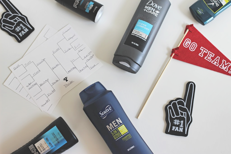 Unilever men's grooming products