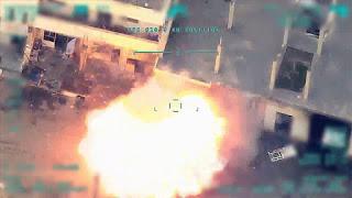 الجيش التركي ينشر مشاهد جديدة لقصف أهداف عسكرية للنظام السوري (فيديو)
