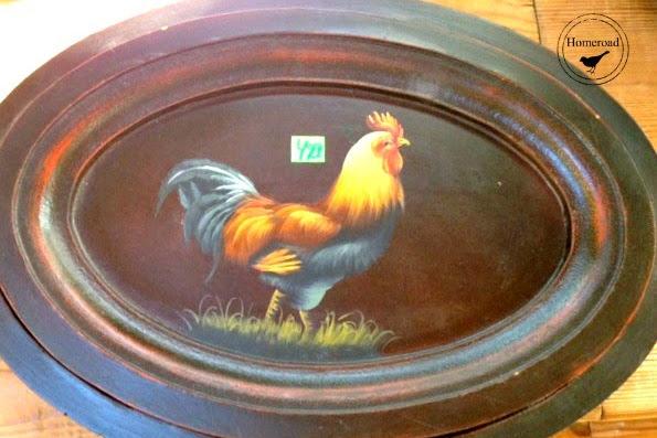 Repurposed Thrift Store Chicken