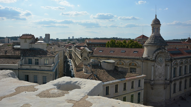 Arena Nimes city view