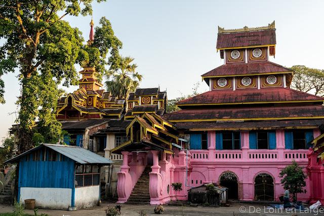 Monastère Kyaung Seindon Mibaya - Mawlamyine