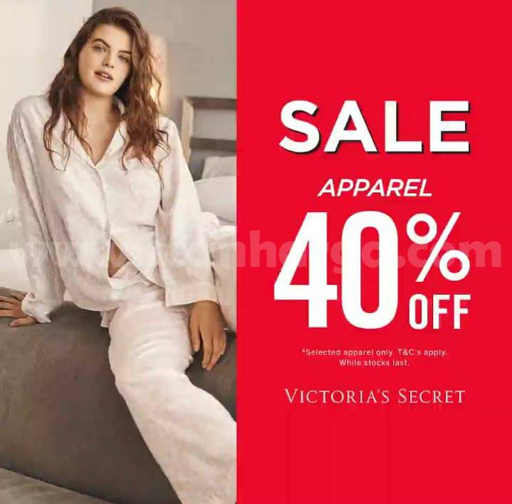 Victoria's Secret Mid Season Sale - Fave Bras up to 50% off & Apparel up to 40% off