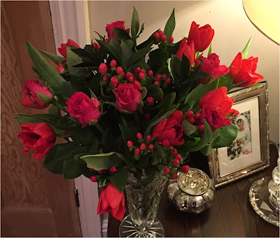My Midlife Fashion Blossoming Gifts Fstive Rose and Tulips