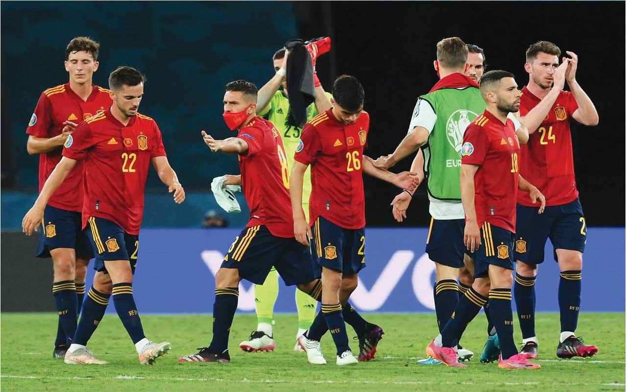 موعد مباراة اسبانيا والاكوادور كاس الامم الاوروبيه