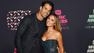 Eric Decker With His Wife