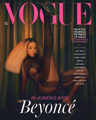 Beyonce 3 covets for british vogue december edition