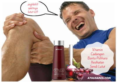 Bagaimana Vitamin Shaklee Bantu Pelihara Kesihatan Sendi Lutut