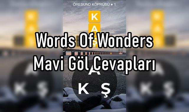 Words Of Wonders Mavi Göl Cevaplar