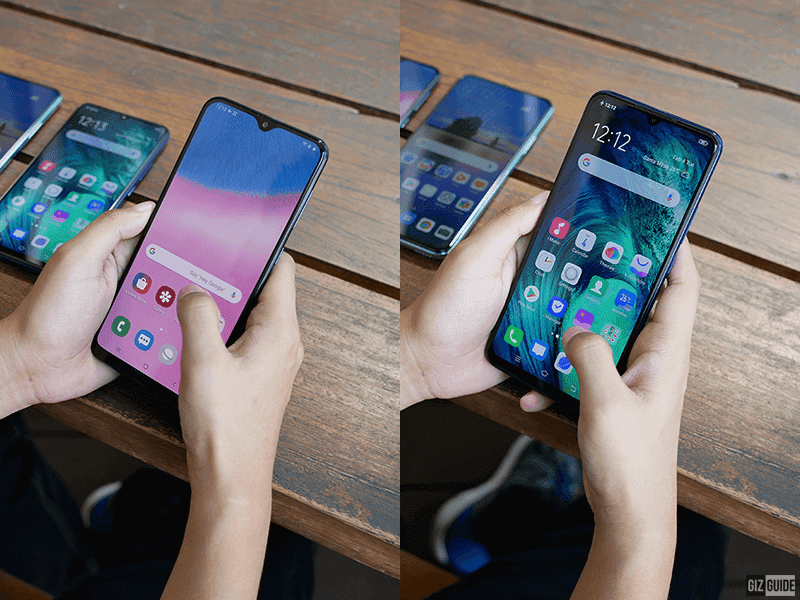 The notch prevented these phones from having a true all-screen experience