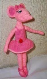 http://www.todopatrones.es/angelina-ballerina.html
