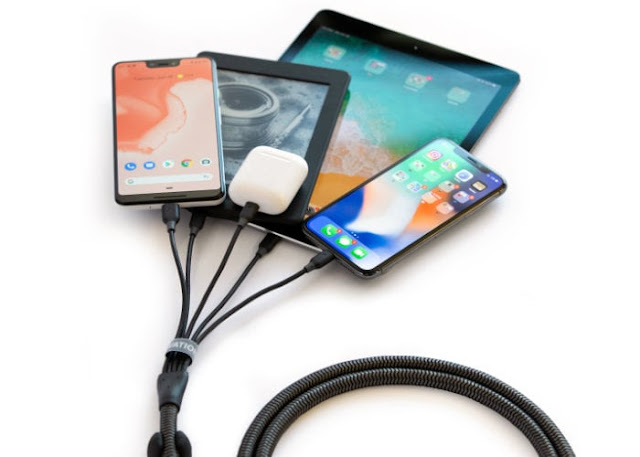 ElevationLab FamilyCharger 5 device charging cable