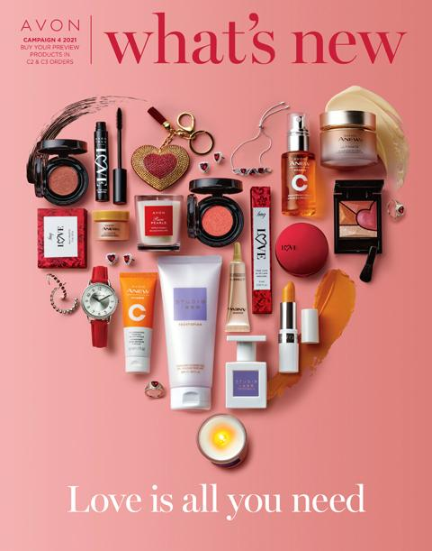 WHAT'S NEW DEMO BOOK. AVON CAMPAIGN 4 2021