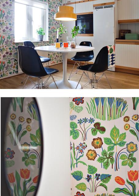 papel tapiz botanico