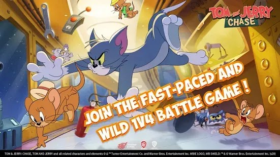 Tom and Jerry: Chase ، أحدث لعبة من NetEase متاحة الآن  . قم بتنزيل هذه اللعبة  لتتمكن من المشاركة في مطاردة لا نهاية لها.