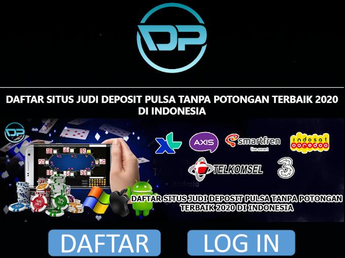 Web Daftar Akun Slot Online Deposit Pulsa Tanpa Potongan