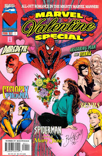 Marvel Valentine Special #1 cover from Marvel Comics