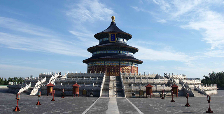 China Temple of Tian Tan Tourist Attraction